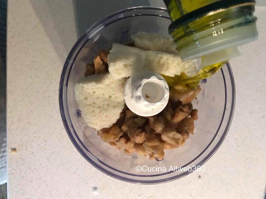 crema di noci ricetta