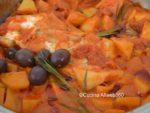 baccala' in umido con cipolle