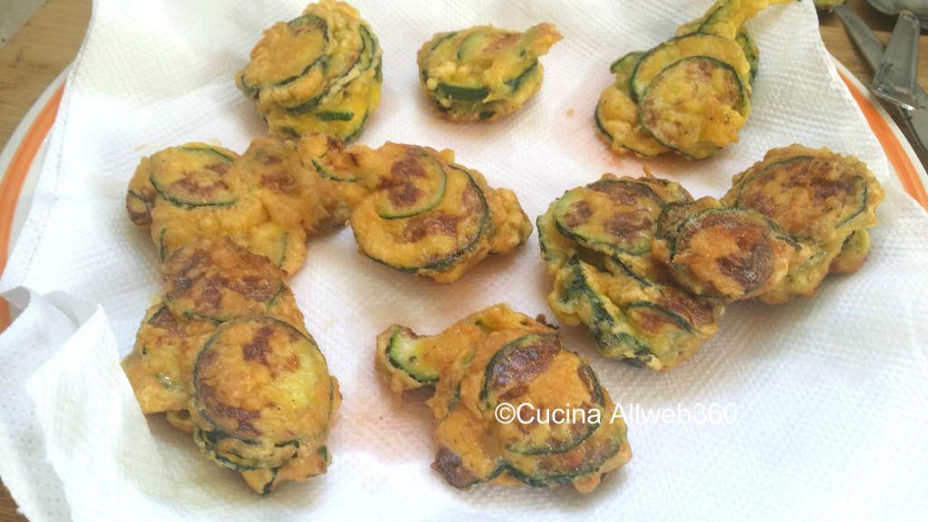 zucchine con pastella