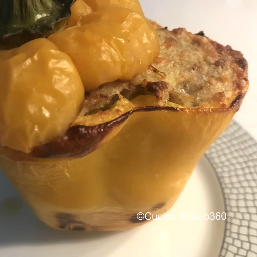 ricetta peperoni imbottiti