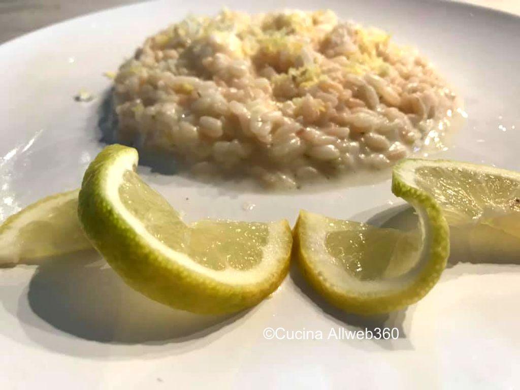 ricetta riso al limone