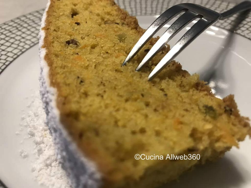torta di carote facile