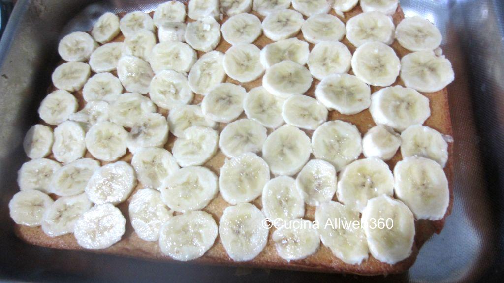 dolce con le banane ricetta