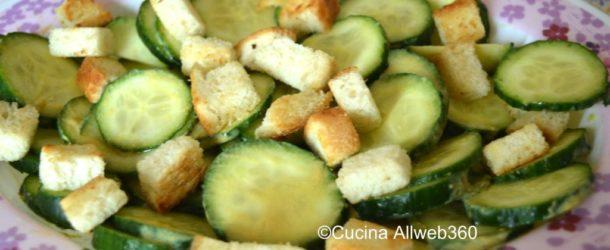 Insalata di cetrioli con senape