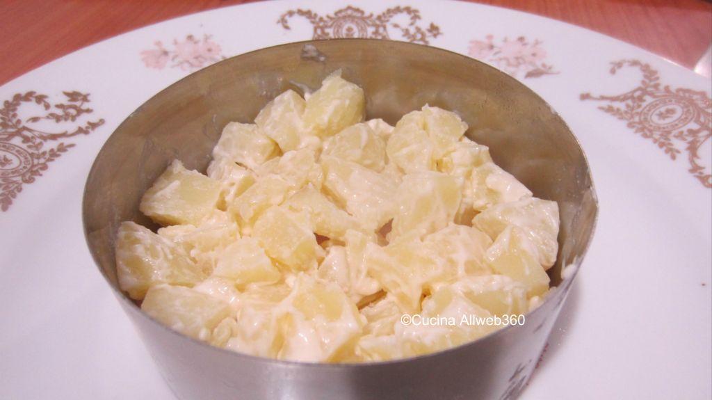salad cake ricetta