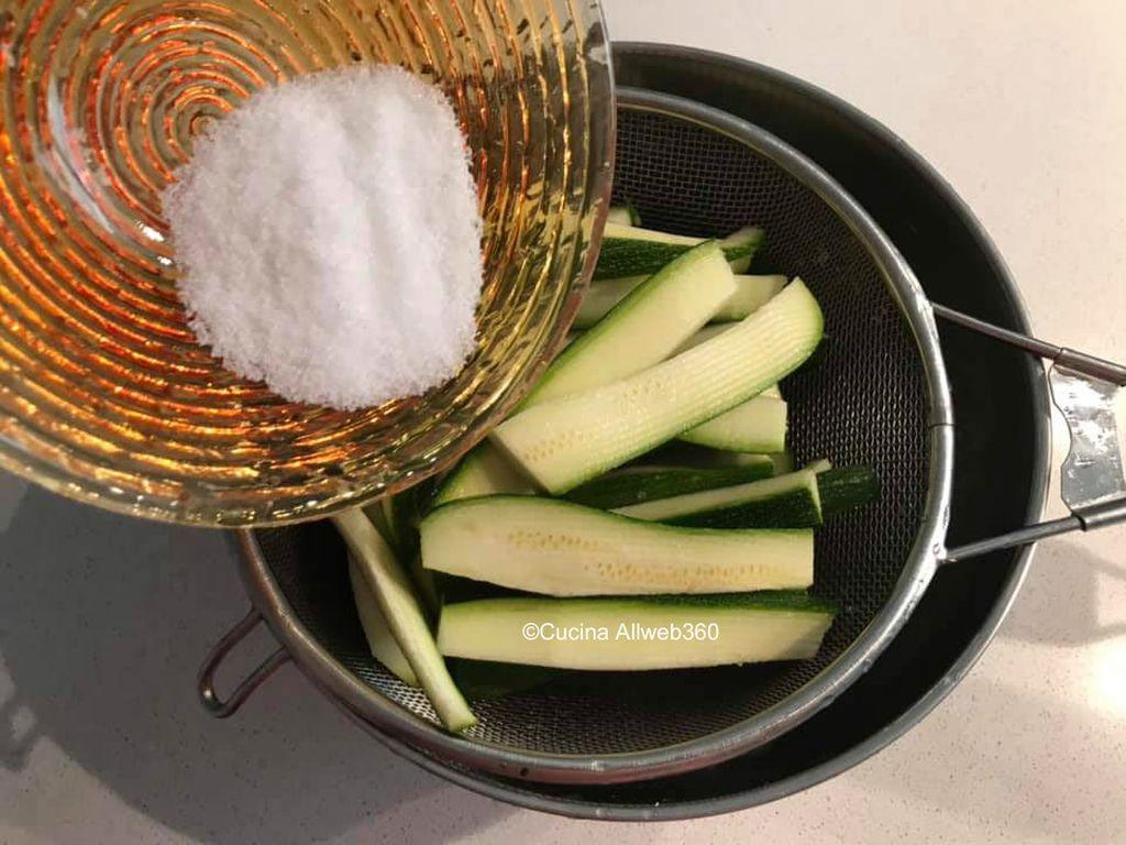 zucchini carpione