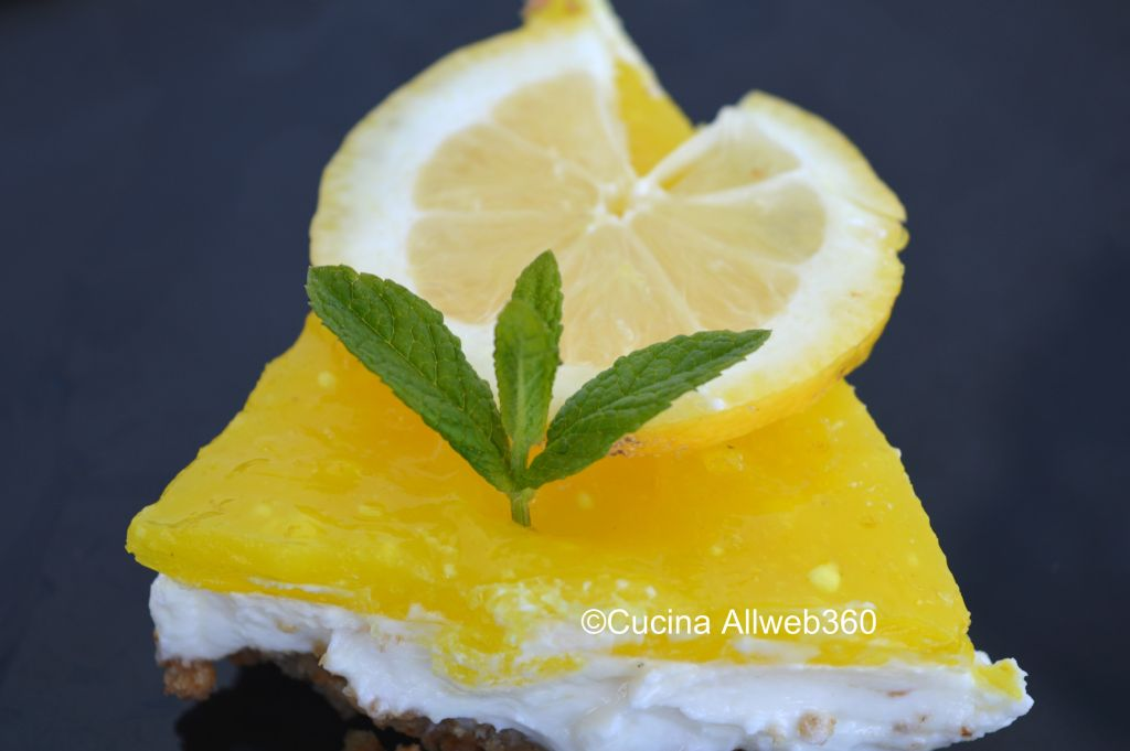 cheesecake philadelphia al limone