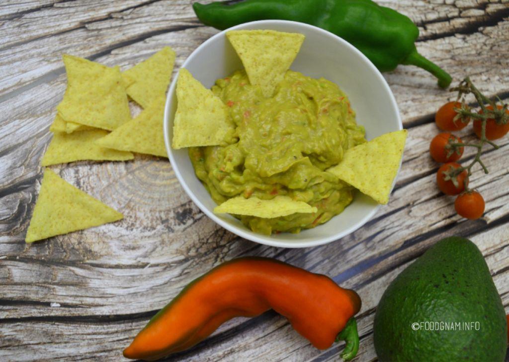 salsa guacamole ricetta