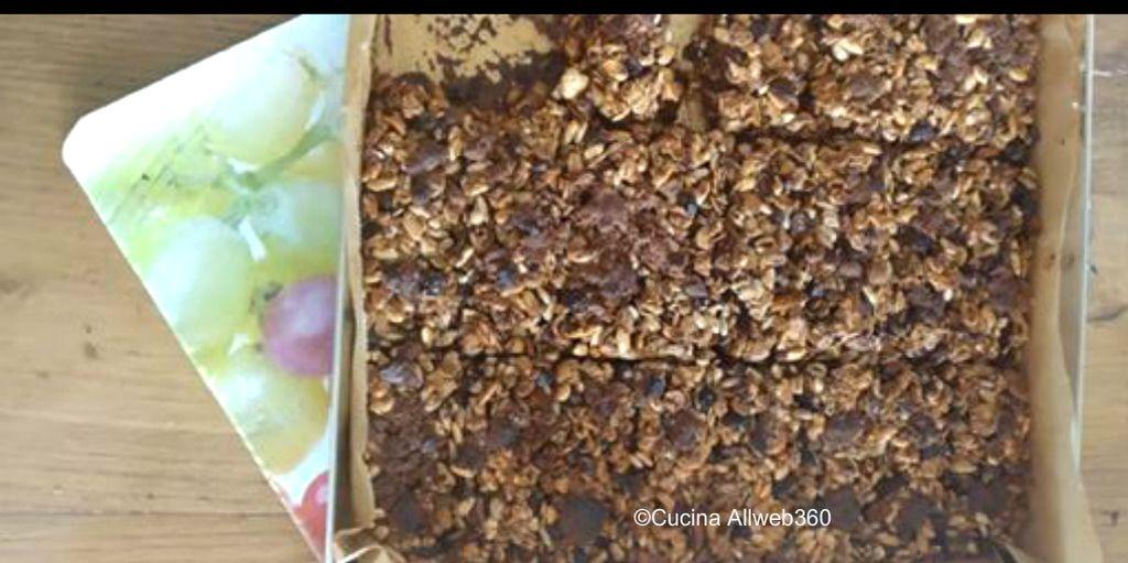 barrette cereali ricetta