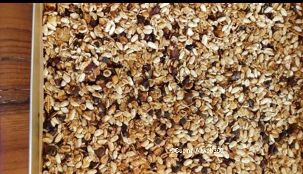 ricetta barrette ai cereali