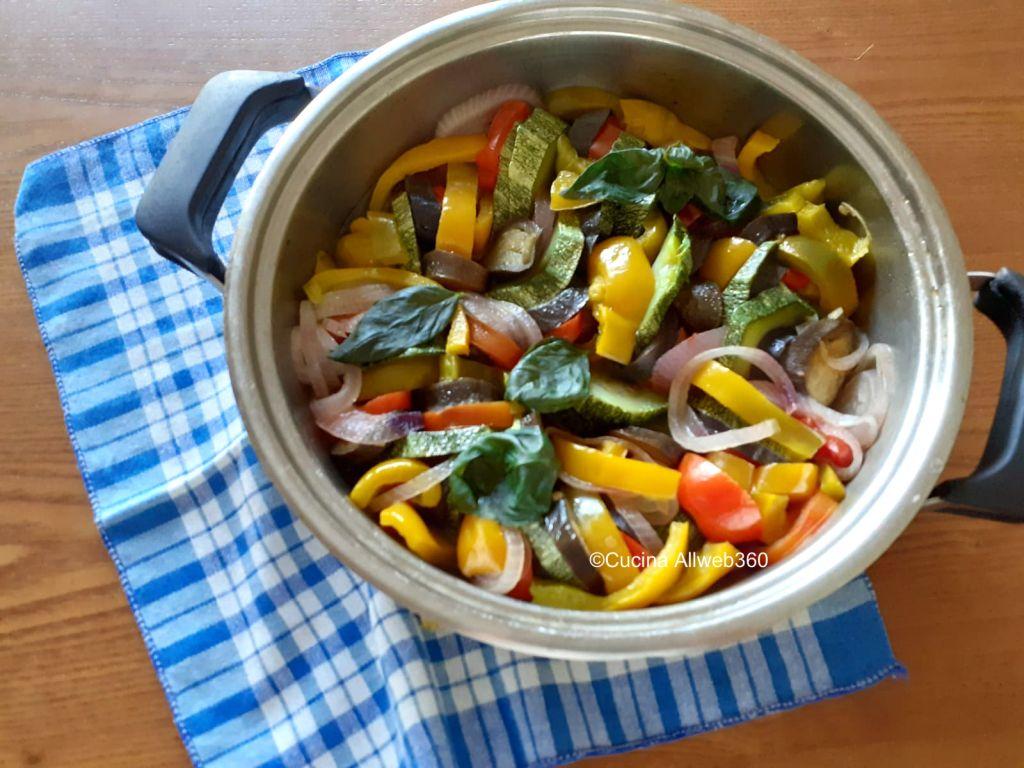 melanzane zucchine peperoni