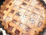 crostata alla marmellata di fragole