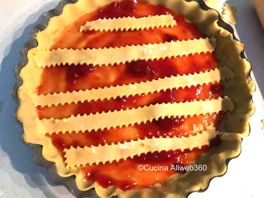crostata alle fragole ricetta
