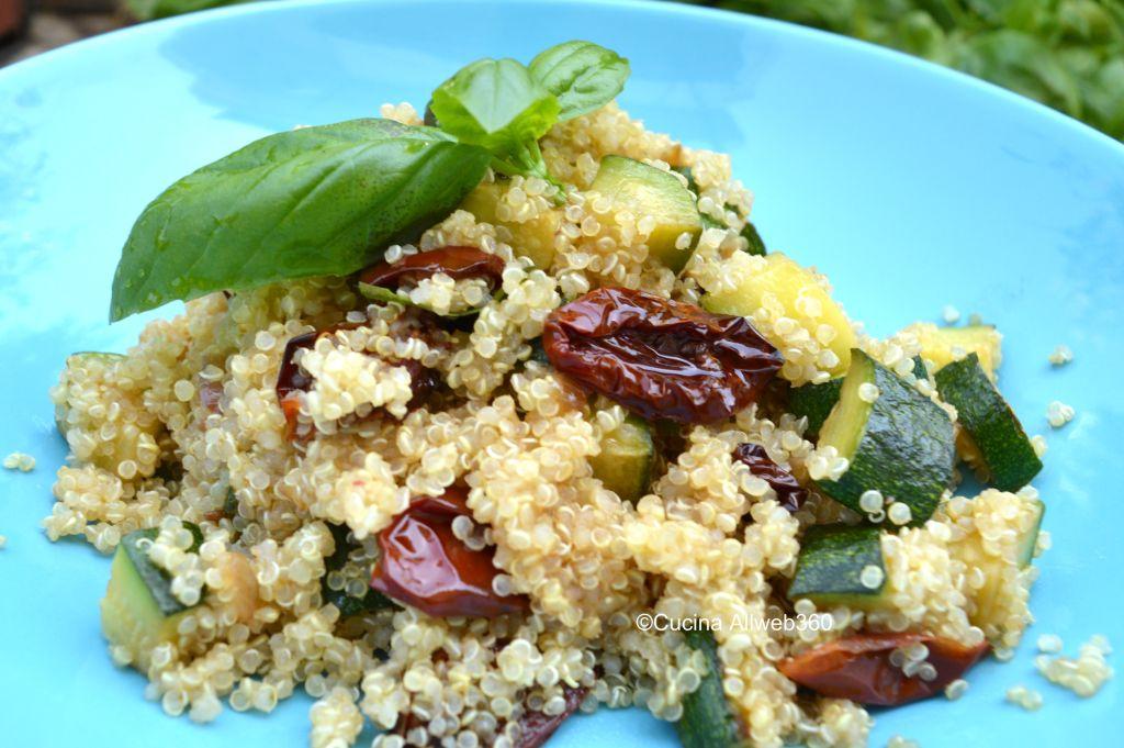ricette con quinoa e zucchine