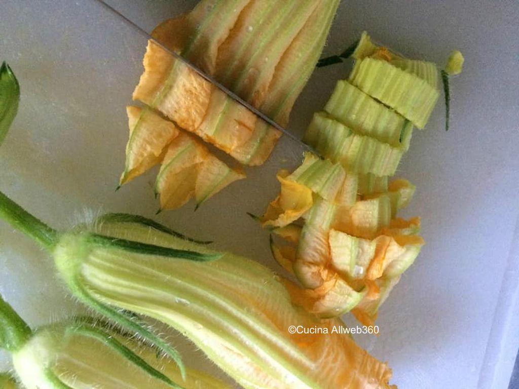 ricetta frittelle fiori di zucca