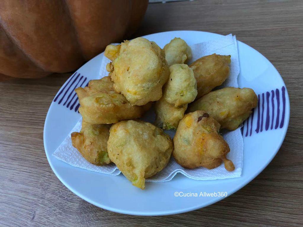 frittelle di fiori di zucca ricetta