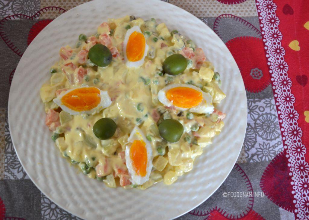 insalata russa originale