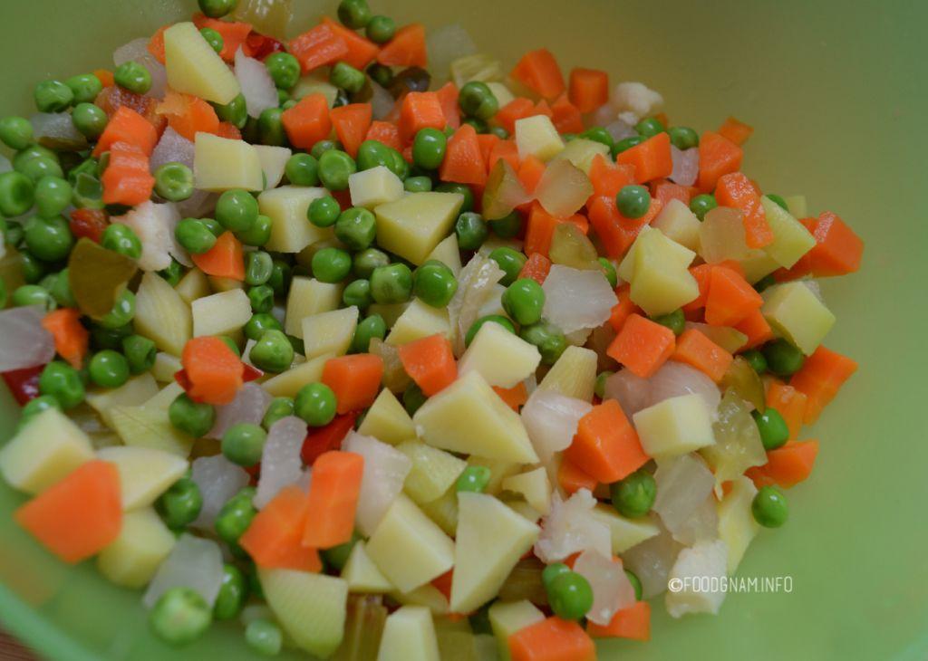 ingredienti per insalata russa