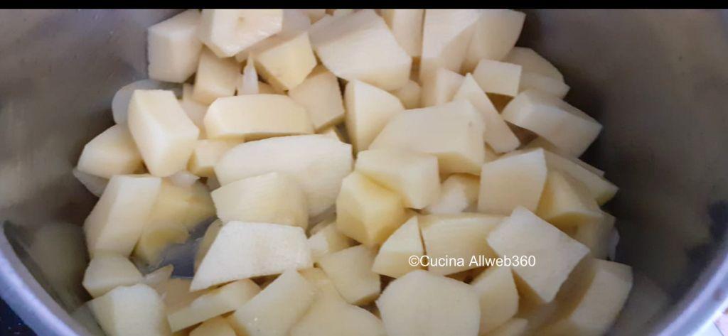 vellutata patate