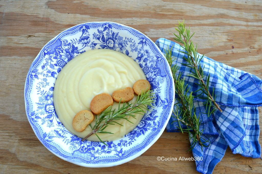 come si fa la crema di patate