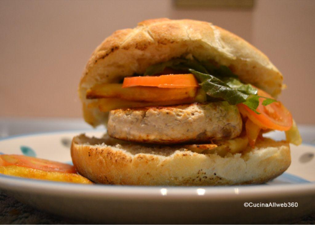 hamburger di pollo ricette