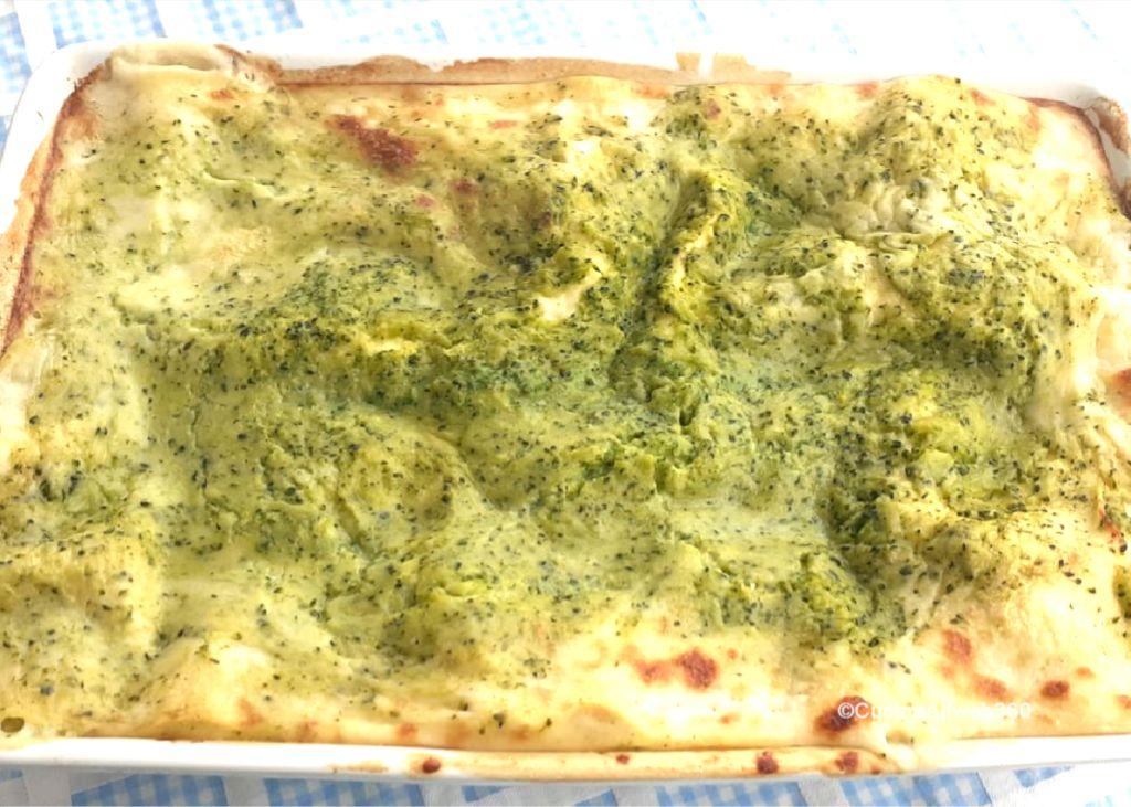 lasagne ai broccoli e salsiccia
