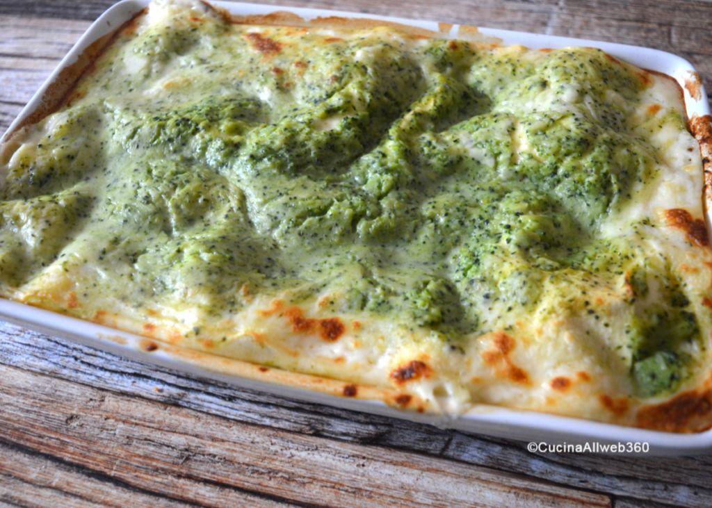 ricetta lasagne broccoli e salsiccia