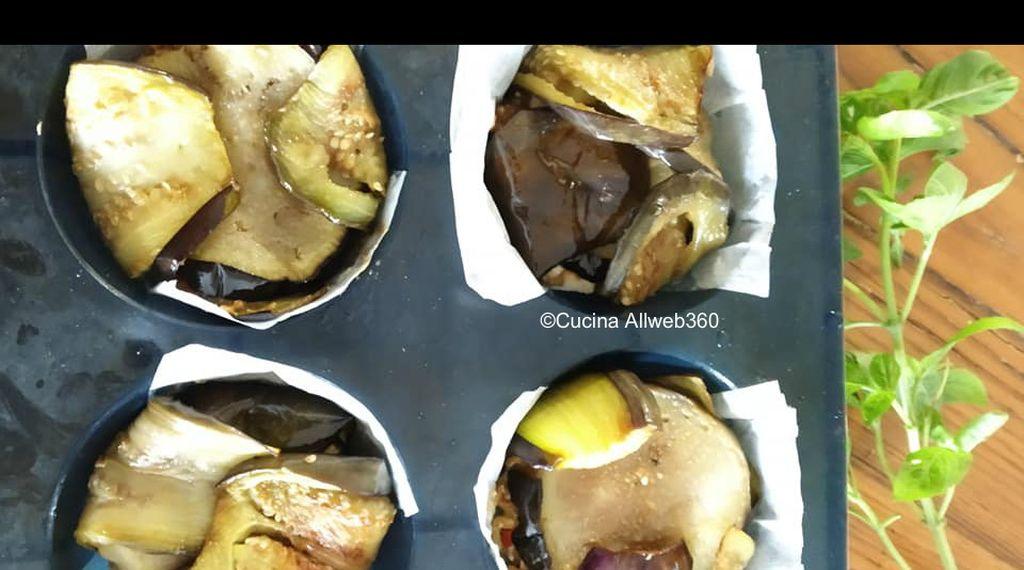 timballo di melanzane al forno