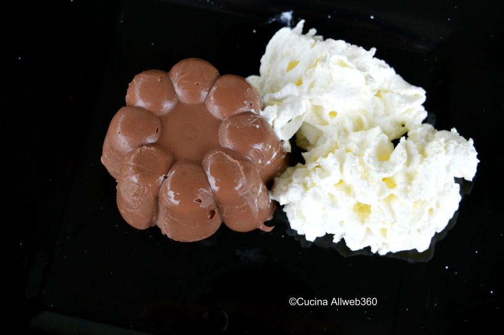 budino cioccolato ricetta