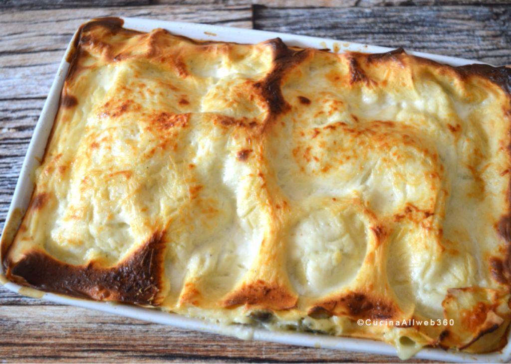 pasta al forno carciofi