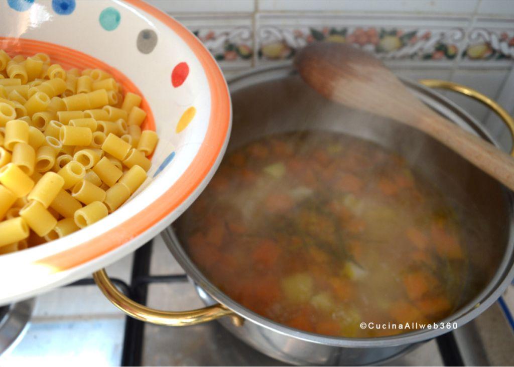 pasta e zucca ricetta
