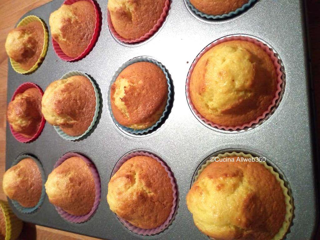 muffin pan d'arancia