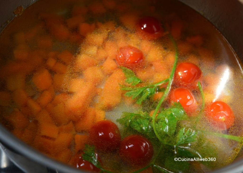 pasta e lenticchie per bambini