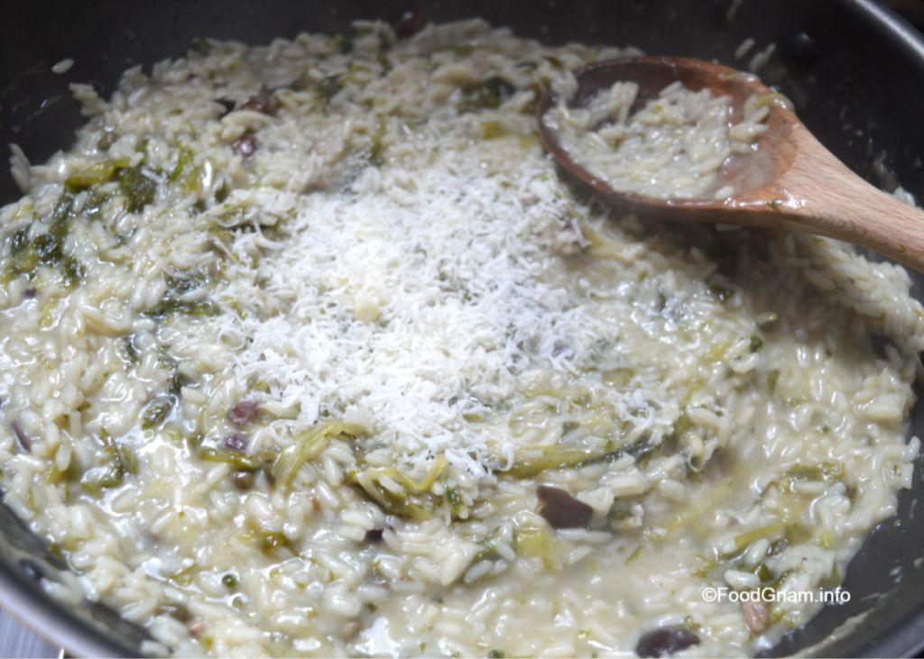 risotto con scarola