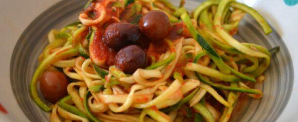 Spaghetto di zucchine