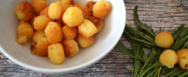Patatine puff fatte in casa