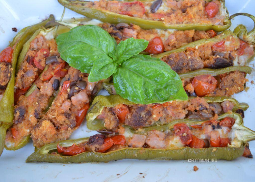 ricette peperoni verdi ripieni