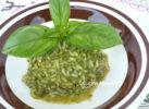 ricetta risotto - risotto al basilico
